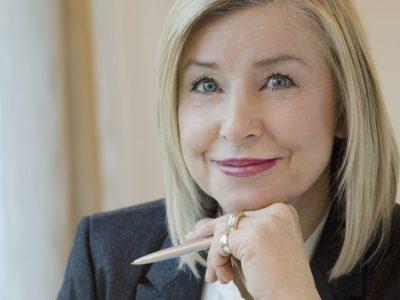 portrait of senior female executive